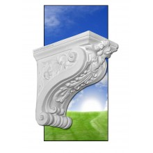 Consola decorativa Viena din ipsos sau beton
