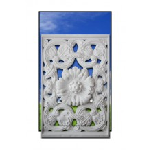 Trafor Clasic pentru balcon in stil Brancovenesc cu floare
